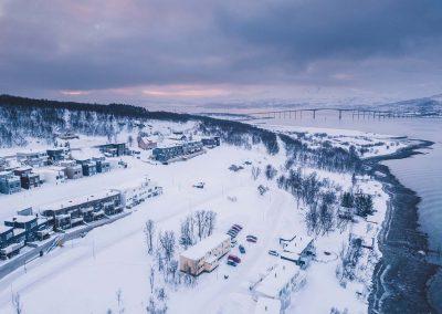 Oversiktsbilde av Blåtimen i Tromsø
